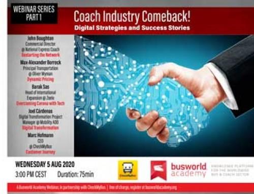International coach operator webinar from Busworld