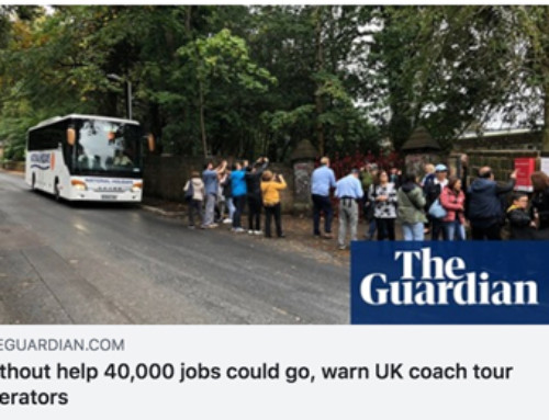 The Guardian highlights need for support for coach tourism sector