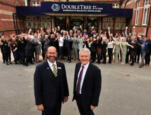 DoubleTree by Hilton Harrogate Majestic Hotel & Spa officially unveiled