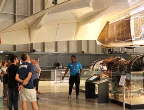 New group tours at Aerospace Bristol